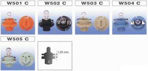 W501 C ~ W505 C